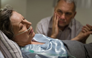 Couple in a nursing home